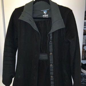 Kuhl black pea coat